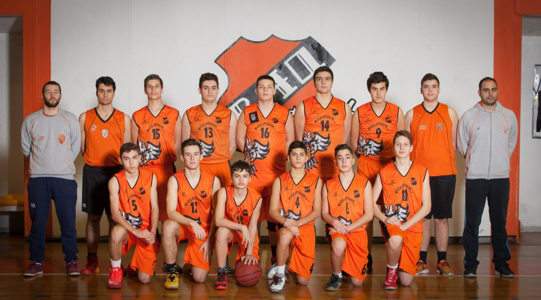 vao basket paidiko 2016